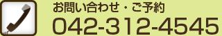 電話 042-312-4545